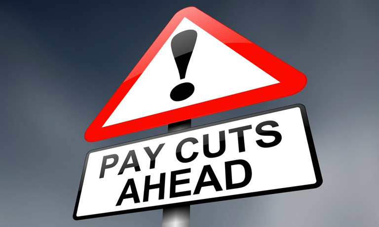 pay-cuts