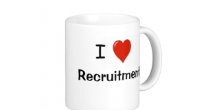I love recruitment mug